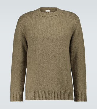 Dries Van Noten Chunky knitted crewneck sweater