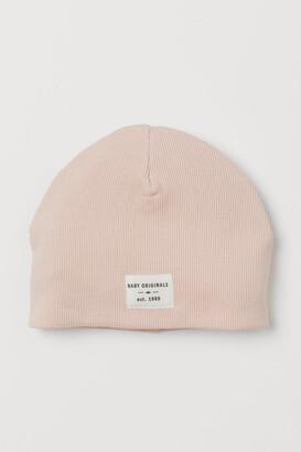 H&M Ribbed jersey hat