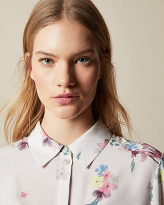 Ted Baker AADELE Pergola button up blouse