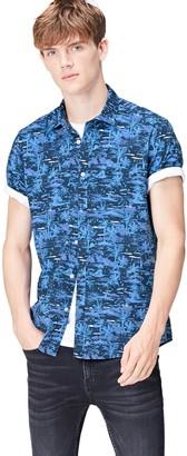 Find. Amazon Brand Men's Short Sleeve Slim Fit Shirt