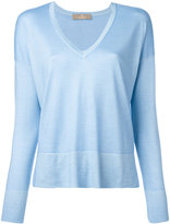Cruciani V neck sweatshirt - women - Silk/Cashmere - 40