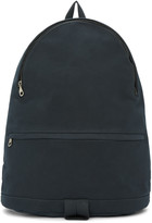 A.P.C. Blue Synthetic Suede Stefan Backpack