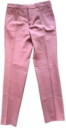 Marni Pink Wool Trousers