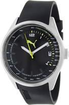 Puma Men's PU103481002 Silicone Analog Quartz Watch with Dial
