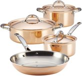 Ruffoni Symphonia Cupra 7-Piece Cookware Set - Copper