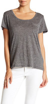 Line & Dot Scoop Pocket Tee