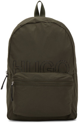 HUGO BOSS Green Convertible Reborn Backpack