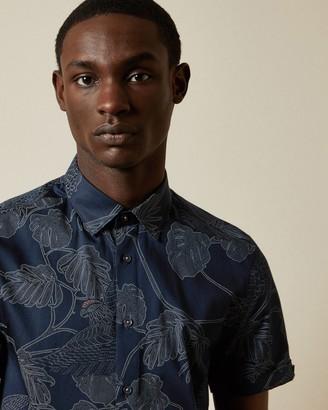Ted Baker DOWNDOG Cotton printed shirt