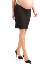 Ingrid & Isabel Maternity Ponte Pencil Skirt with Side Inset