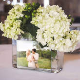 Cathy's Concepts CATHYS CONCEPTS Personalized Glass Photo Vase