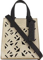 Kenzo Cut-out leather tote