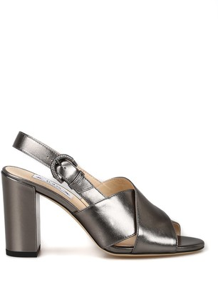 Tod's Slingback Crossover Strap Sandals