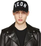 DSQUARED2 Black Icon Cap