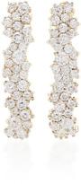 Ana Khouri 18K White Gold Diamond Gioconda Earrings