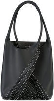 Paco Rabanne scale effect tote - women - Leather/metal - One Size