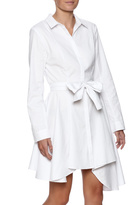 C/MEO COLLECTIVE White Shirt Dress
