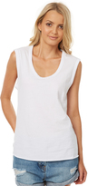 Swell Scoop Relaxed Tank White