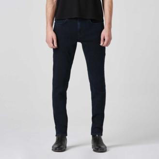 DSTLD Mens Skinny Jeans in Midnight Blue Overdye