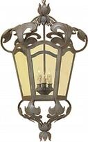 MAlanie 3 - Light Lantern Geometric Chandelier with Wrought Iron Accents Astoria Grand