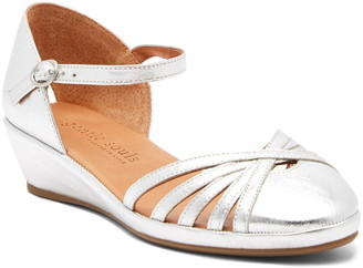 Gentle Souls by Kenneth Cole Naira Ankle Strap Wedge Sandal