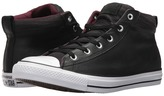 Converse Chuck Taylor All Star High Street Leather w/ Fleece Mid Men's Classic Shoes