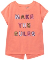 Crazy 8 Neon Make The Rules Tee