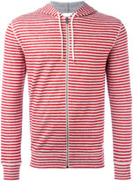 Dondup striped hoodie - men - Cotton/Linen/Flax/Polyamide - M