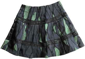 Marni Blue Polyester Skirts