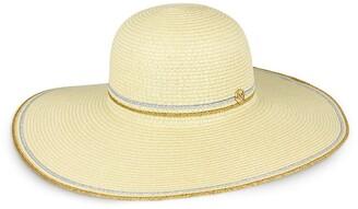 Just Jamie Floppy Straw Hat