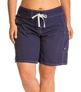"Tommy Bahama Women's Plus Size Solid 9"" Boardshort 8131442"