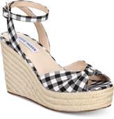 Steve Madden Women's Valinda Espadrille Wedge Sandals