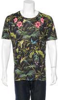 Gucci 2016 Flora Knight Linen T-Shirt