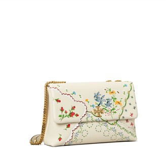 Tory Burch Kira Mixed-Floral Convertible Shoulder Bag