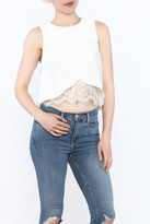 Do & Be Asymmetrical Crop Top