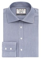 Thomas Pink Ackerman Texture Classic Fit Dress Shirt - Bloomingdale's Classic Fit