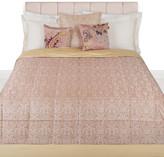 Etro Ruwi Quilted Bedspread - 270x270cm - Peach