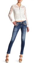 Miss Me Rhinestone Accent Skinny Jean