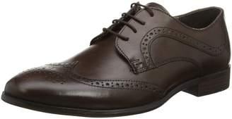 Red Tape Mens Mottram Brown Formal Shoe