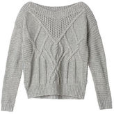 Cozy Sweaters Mixed-stitch Cocoon Sweater