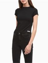 Calvin Klein Jeans Mock Neck Baby T-Shirt
