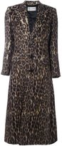 Saint Laurent animalier long coat