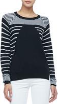 Rachel Zoe Grayson Striped Knit Sweater