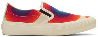 Dries Van Noten Off-White Verner Panton Edition Canvas Sneakers