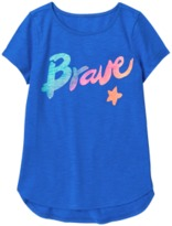 Crazy 8 Sparkle Brave Active Tee