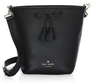 Kate Spade Hayes Street Vanessa Leather Bucket Bag