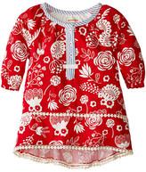 Hatley Pom Pom Tunics - Field Flowers - Silhouette (Toddler/Little Kids/Big Kids)