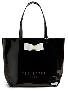 Ted Baker Bow Small Icon Vinyl Bag