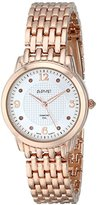 August Steiner Women's AS8133RG Analog Display Swiss Quartz Rose Gold Watch