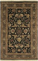 Surya TJ44-268 Black Taj Mahal Collection Rug - 2ft 6in X 8ft