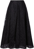 Rochas lace midi skirt - women - Polyester - 42